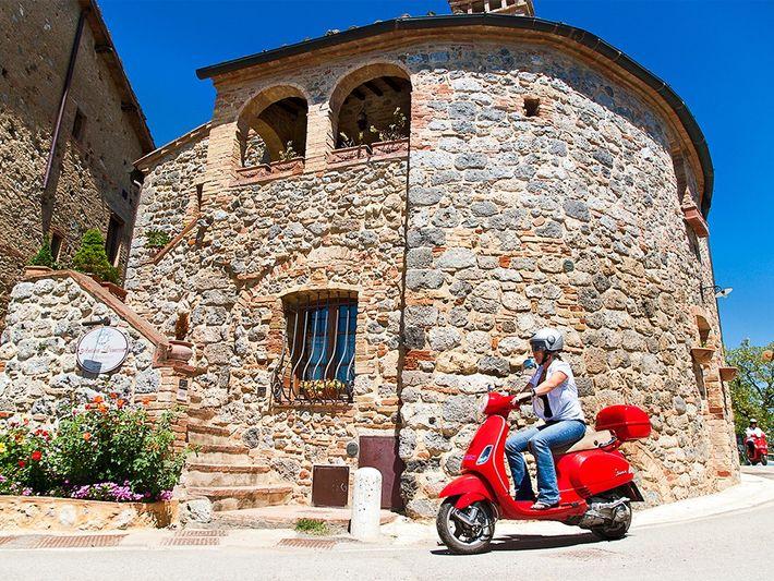 The Italian hill town of San GimignanoPhotograph by Christina Anzenberger Fink & Toni Anzenberger, Redux