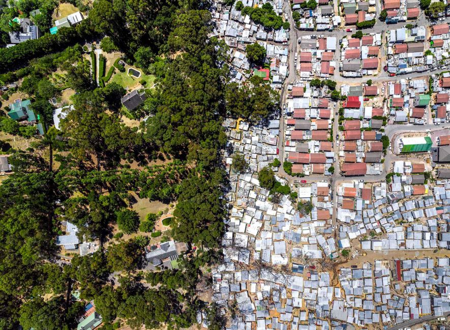 Inequality in cities – from above