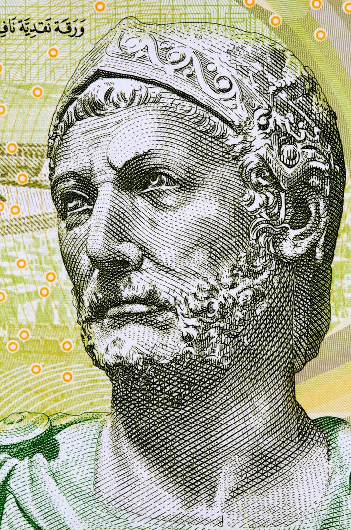 In Tunisia, the five-dinar note features another ancient military commander who helped build an empire. Carthaginian ...