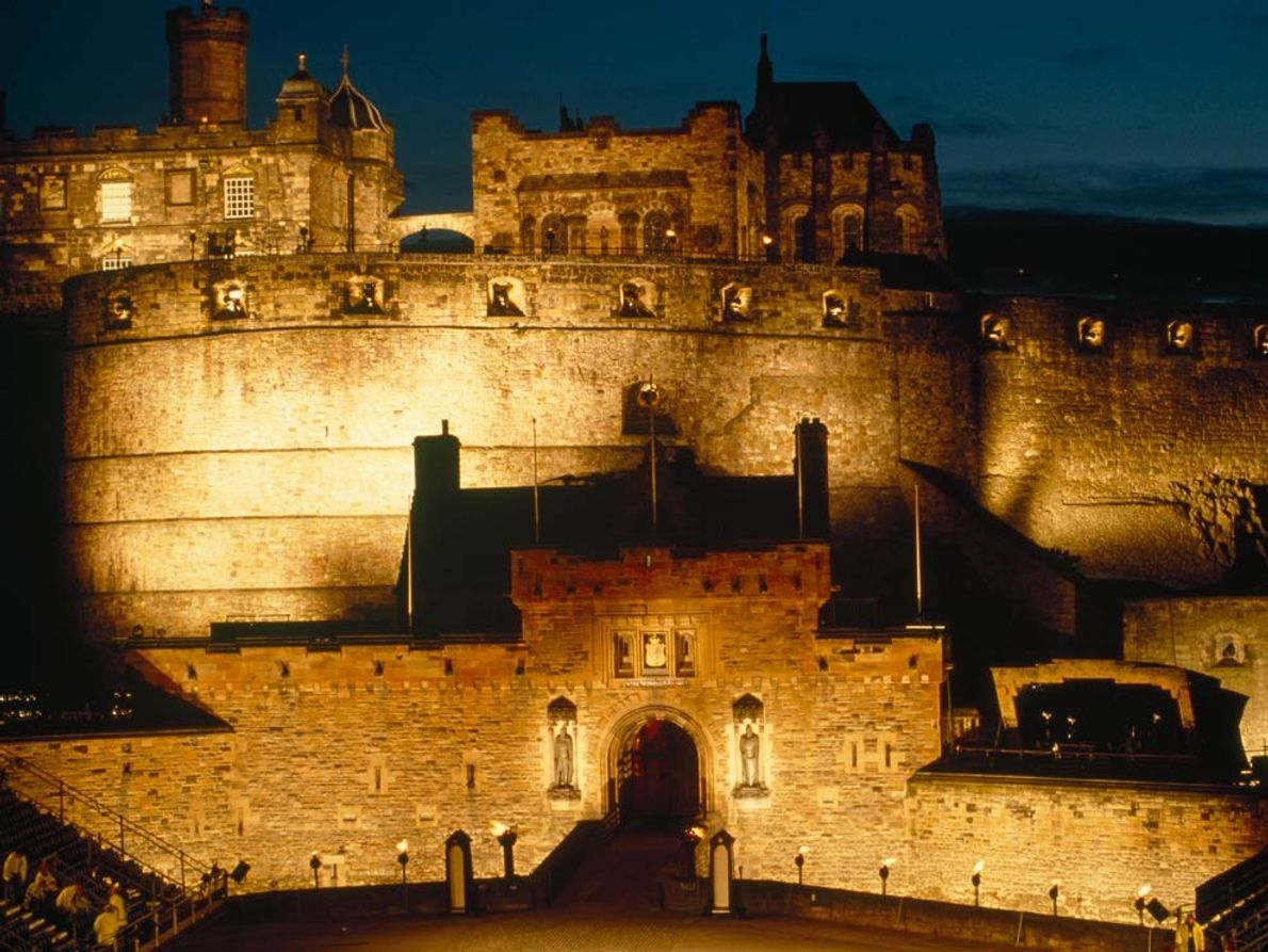 Castle Rock, whose vertical flanks rise above the Scottish city of Edinburgh, may have first served …