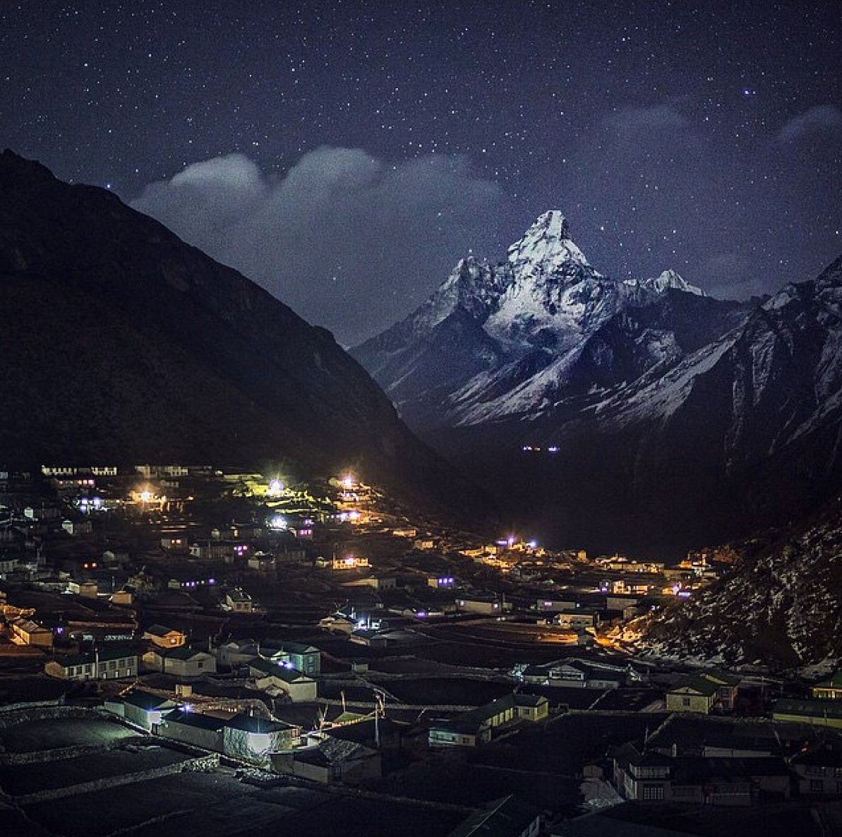 """""""Khumjung is the idyllic Sherpa cultural capital of the Everest region. This is the gateway to ..."""