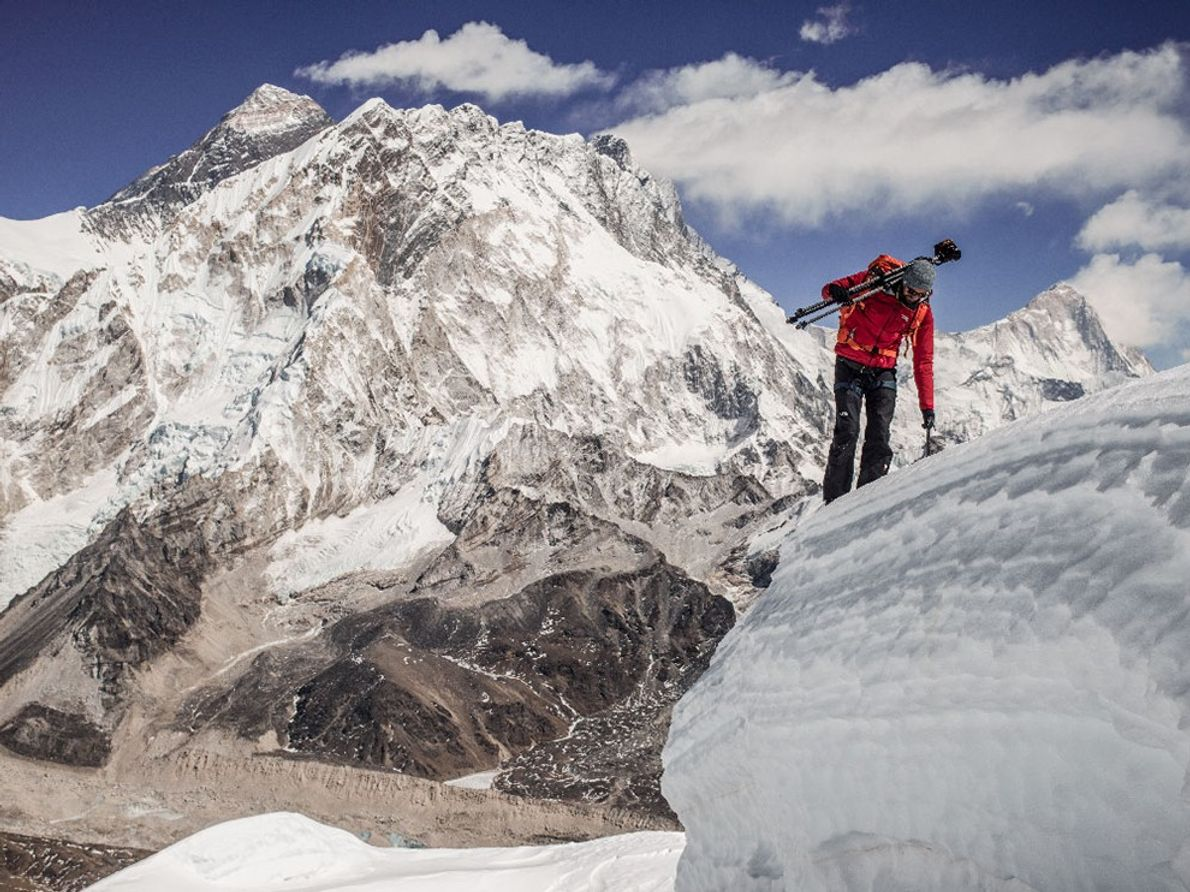 """""""The reason why it typically takes so long to climb Everest is the acclimatization process. Typically ..."""