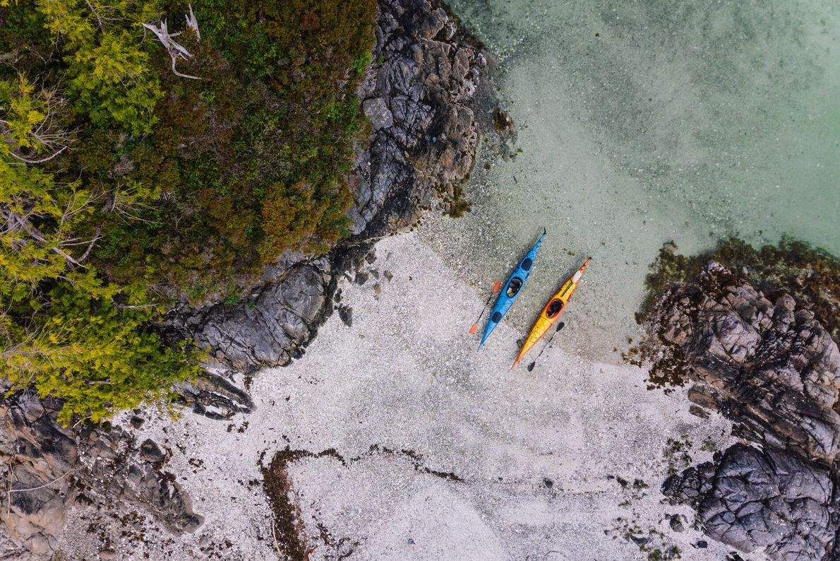 5. WITH AN INDIGENOUS GUIDE  On a kayak trip led by an Indigenous guide, you'll learn just ...