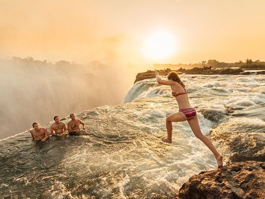 Soar Above One of the Most Awe-Inspiring Waterfalls on Earth