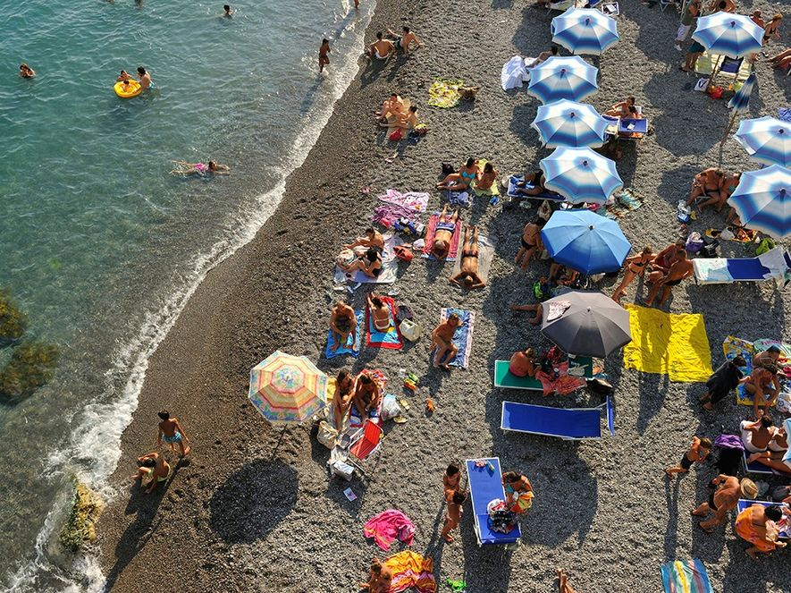 SUN-KISSED AMALFI  The beautiful Amalfi Coast can be crowded, but its allure is irresistible—spectacular beaches, ...