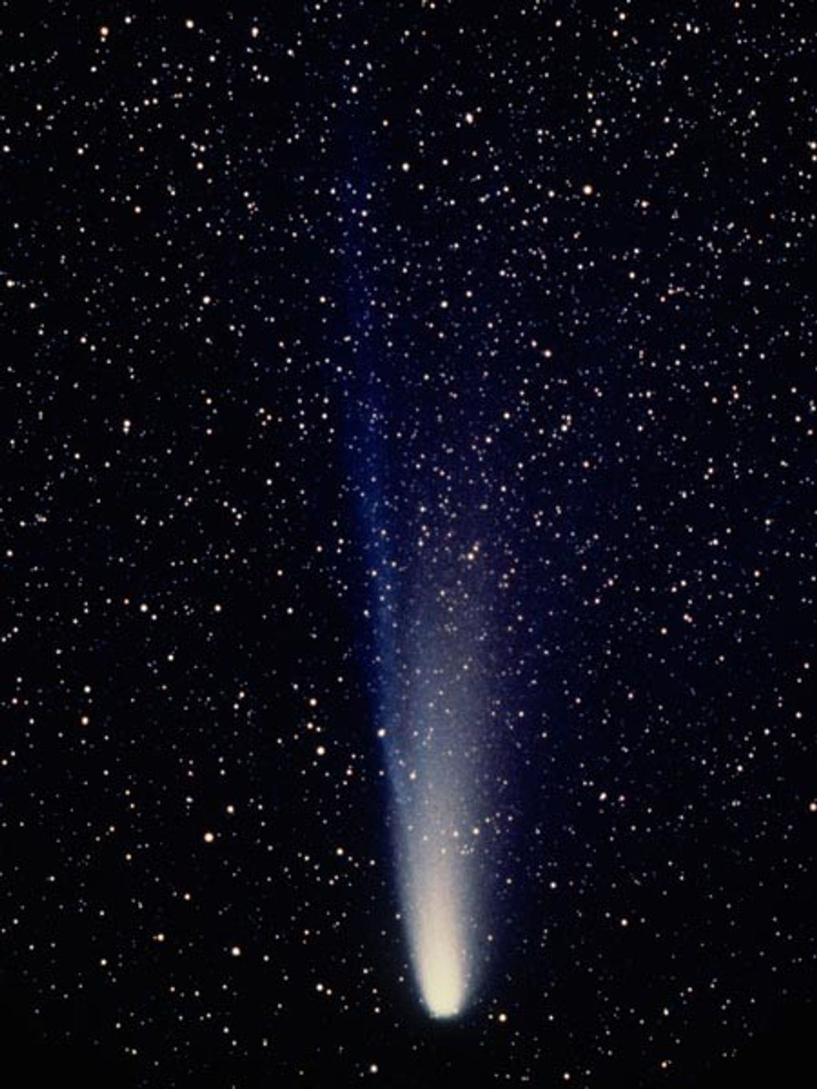 Of the thousands of known comets in the solar system, Halley's comet is one of some ...