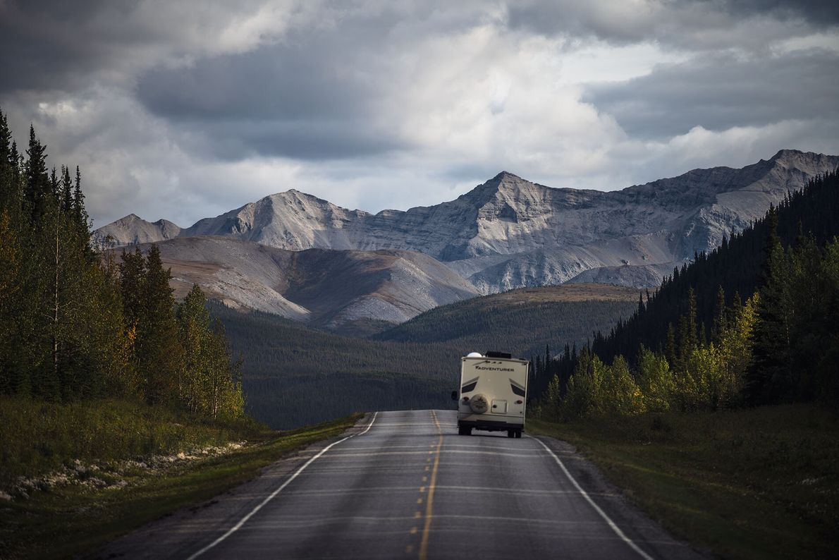 ROAD TRIPPING  With its long, wide roads and epic mountain scenery, there are few places in the ...