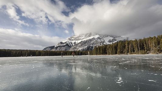 Beyond the slopes in Banff National Park