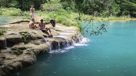 Cahabón River, Semuc Champey