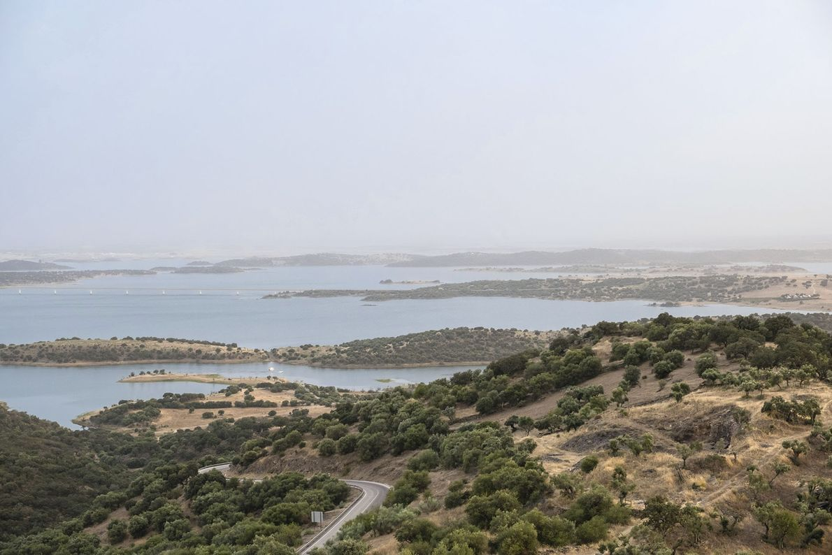 The Great Lake, as seen from Monsaraz.