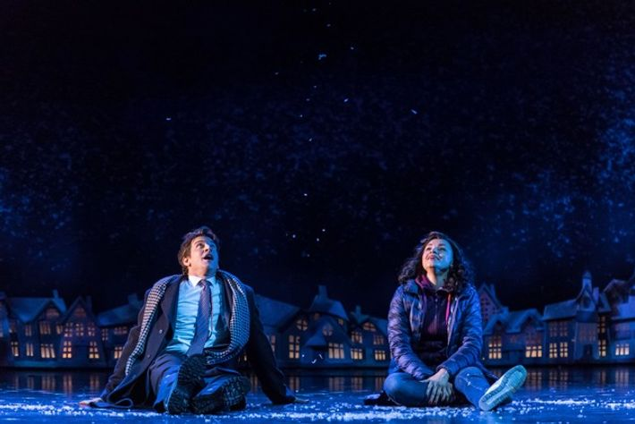 Andy Karl and Carlyss Peer in Groundhog Day