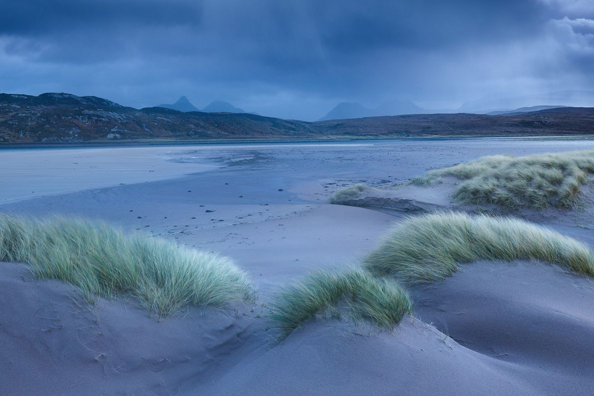 """The northwest coast of Scotland has numerous white sand beaches - some of which offer views ..."