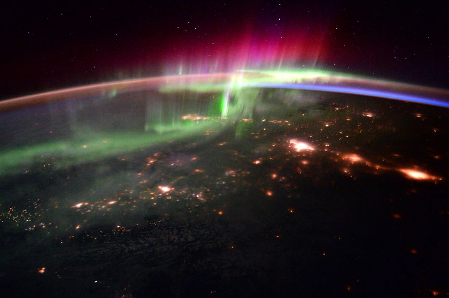 The aurora lights are a northern hemisphere phenomenon, and visible across many regions of the UK.