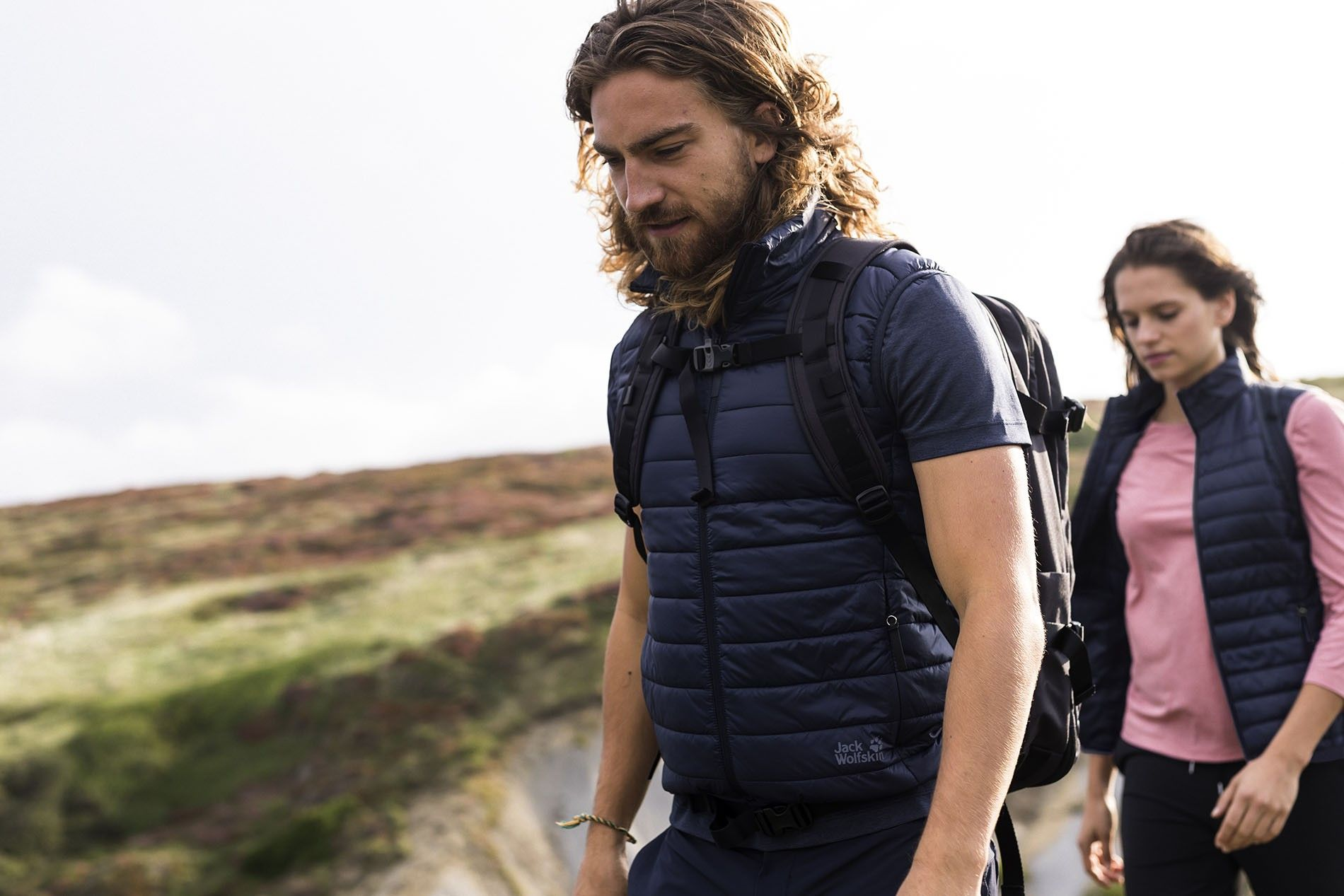 People hike in new Jack Wolfskin collection
