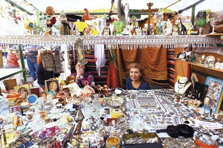Plaza Dorrego flea market. Image: Getty
