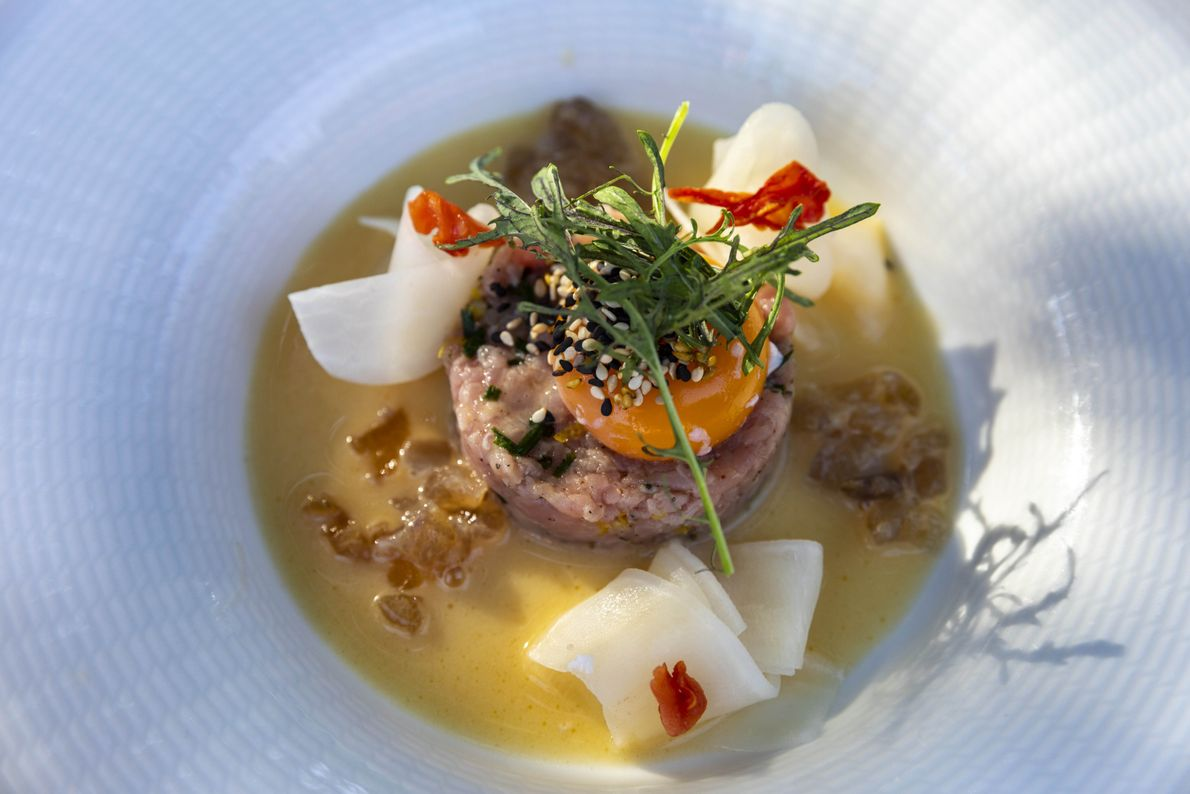 At Gusteau, the food is as beautiful and distinctive as the surrounding Tokaj terroir, from which ...