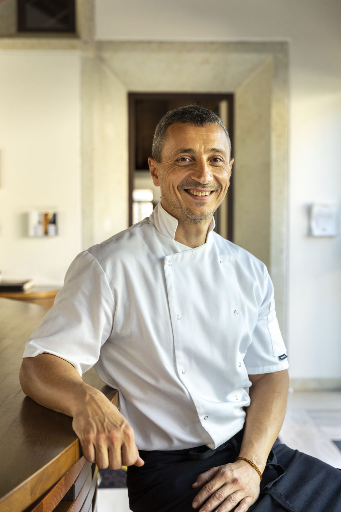 Chef Gábor Horváth brought a contemporary take on Hungarian cuisine to the village of Mád, in ...