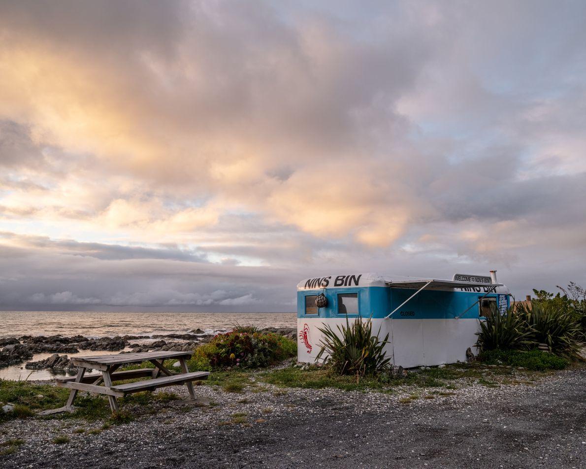 Kaikōura's name in te reo Māori translates from 'kai' (food) and 'koura' (crayfish, a lobster-like crustacean). ...