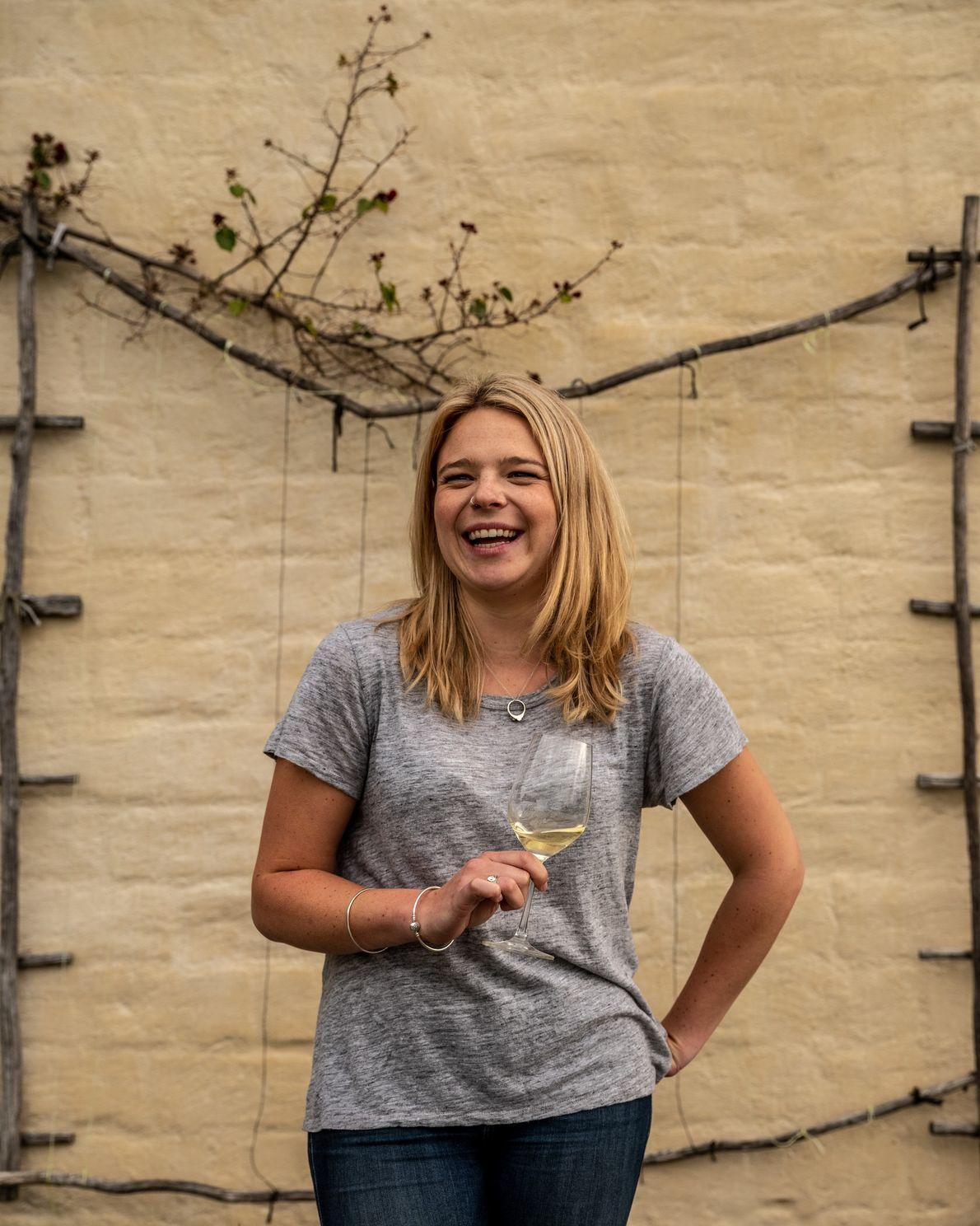 Rosie Finn at Neudorf Vineyards, one of many in Nelson Tasman's boutique wine region. This 39-year-old ...