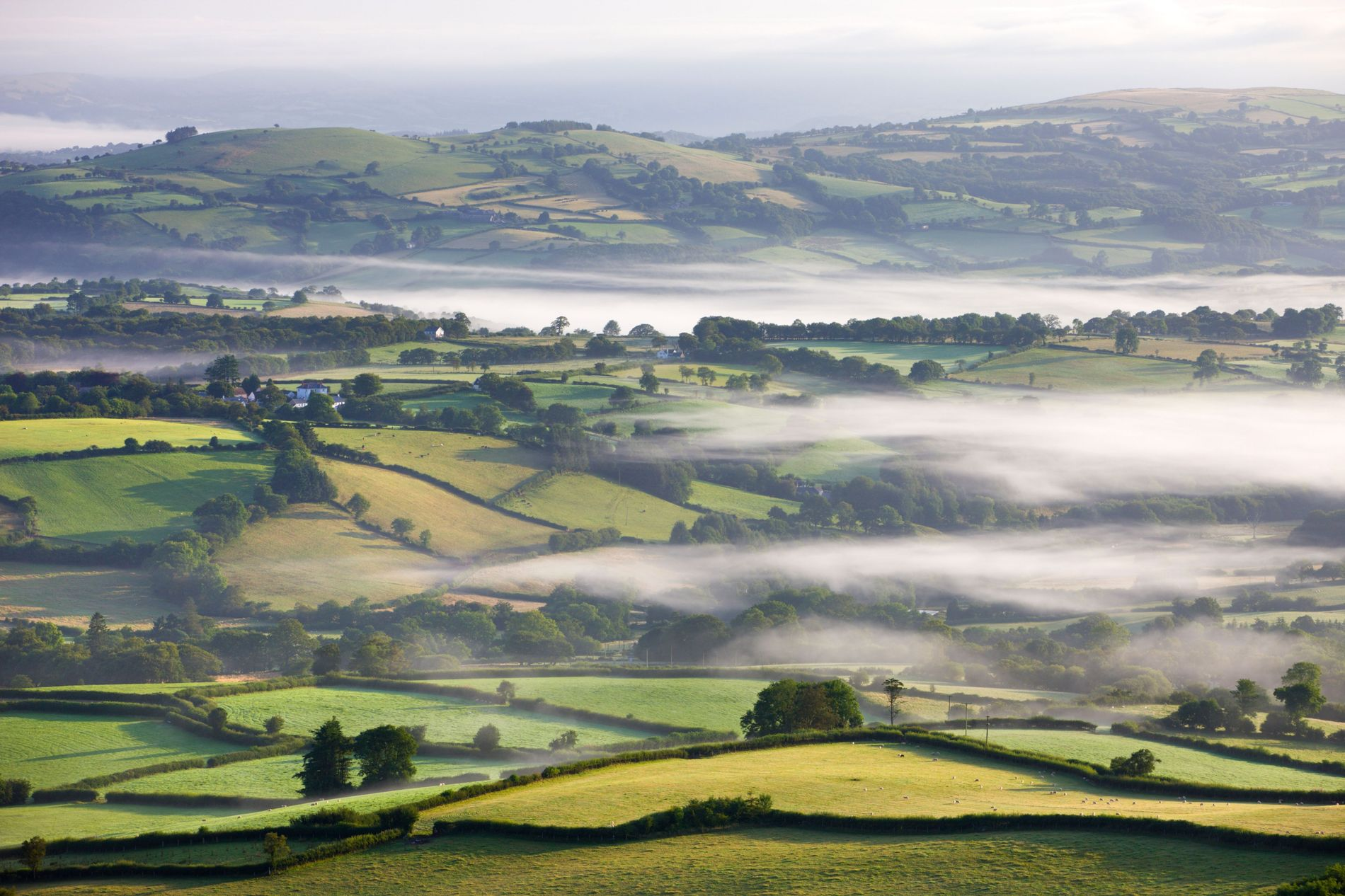 Carmarthenshire in South Wales has the highest population of Welsh speakers, closely followed by Gwynedd in ...
