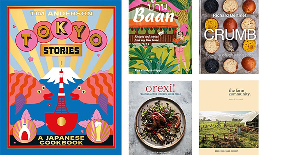 From Tokyo to Greece: the best new cookbooks