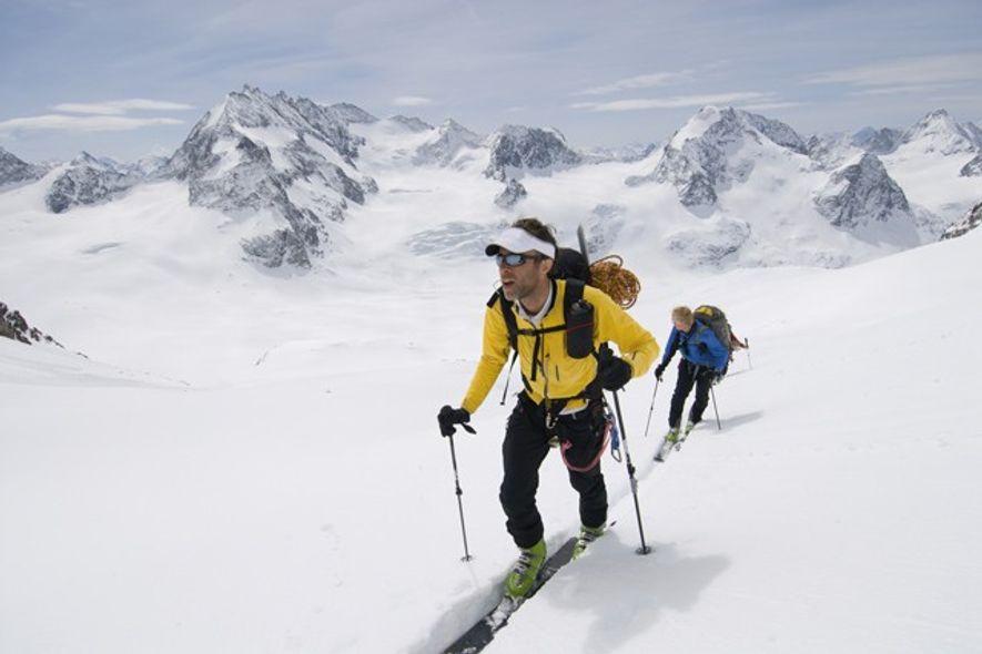 Ski touring, Haute Route, Switzerland
