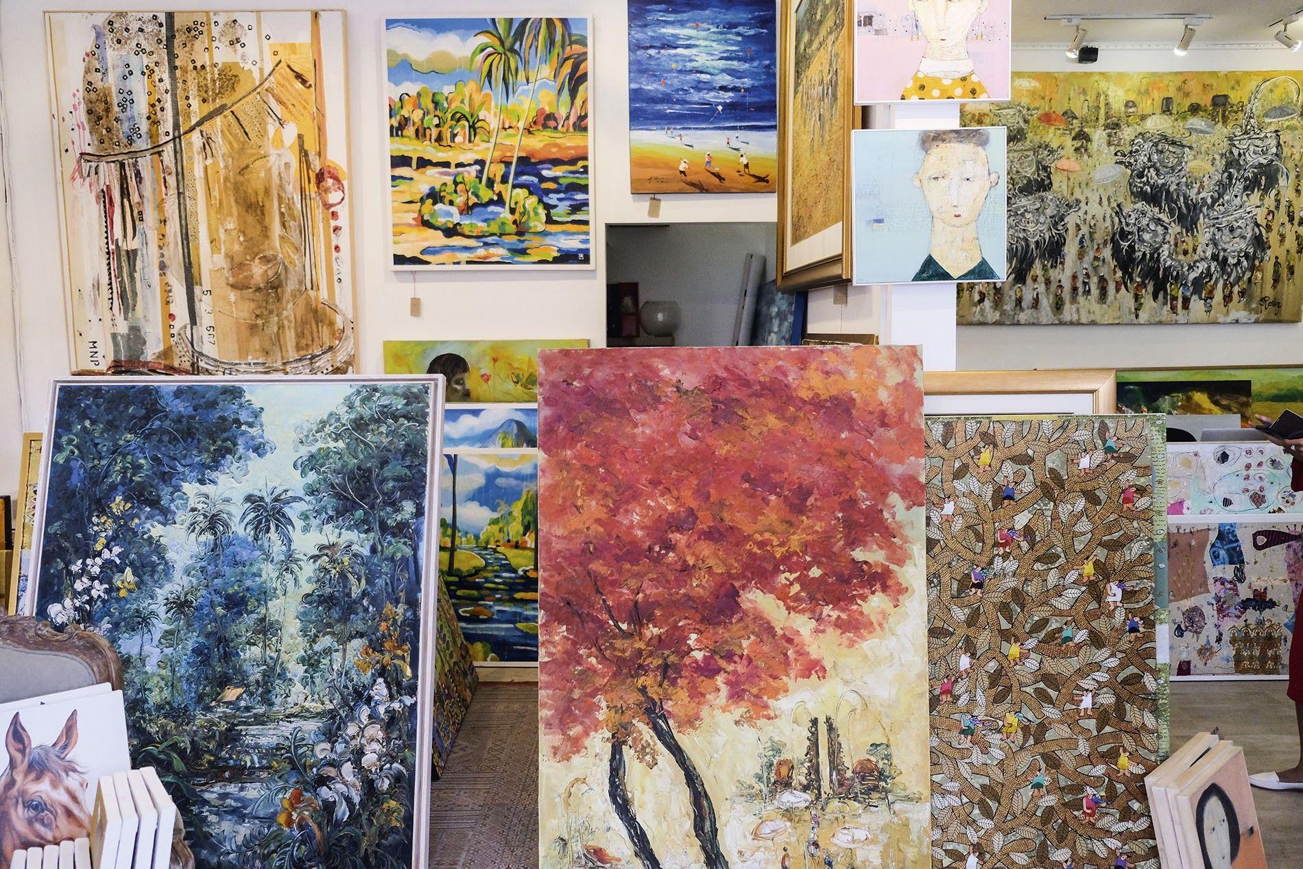 Purpa Fine Art Gallery Seminyak