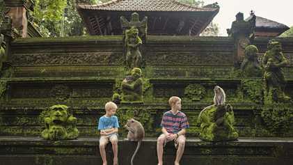 Family travel: Easy Bali