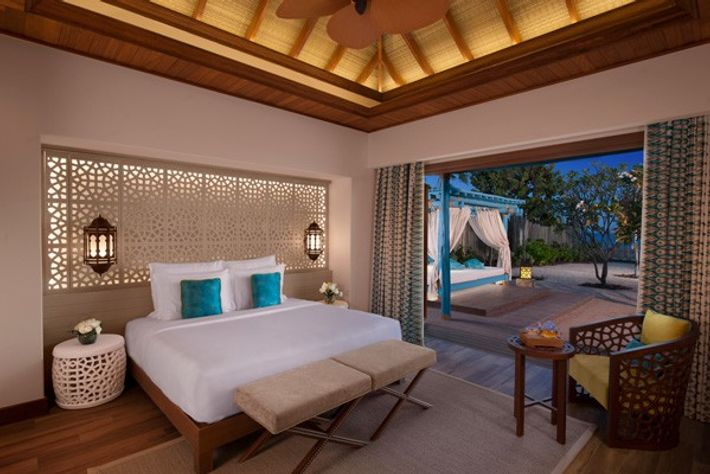 Bedroom, Sea View Pool Villa, Banana Island, Doha