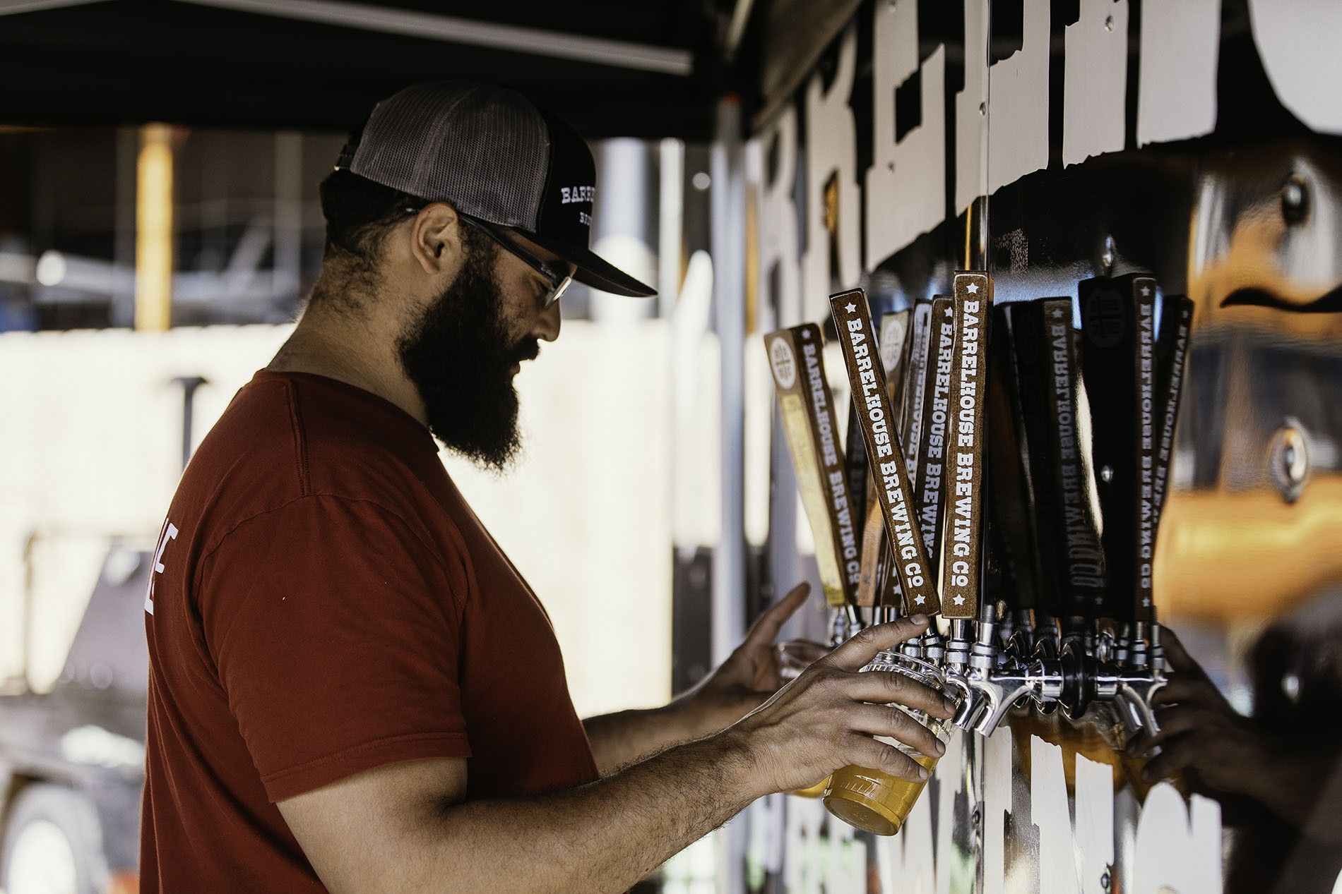 """The craft brewery and gardens, where gigs are performed on a rusty flatbed truck, opened in 2012. """"Back then, very few people knew [the area] existed,"""" recalls Chris Vaughn, one of BarrelHouse's three founders. """"Now, it's become one of the hottest attractions in the county."""""""