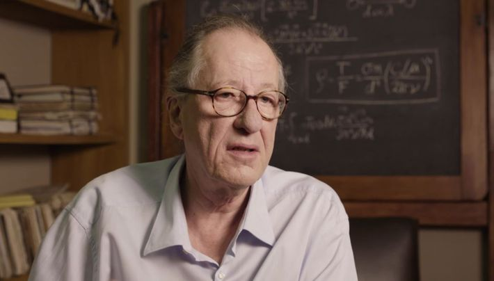 Behind the Scene with Geoffrey Rush