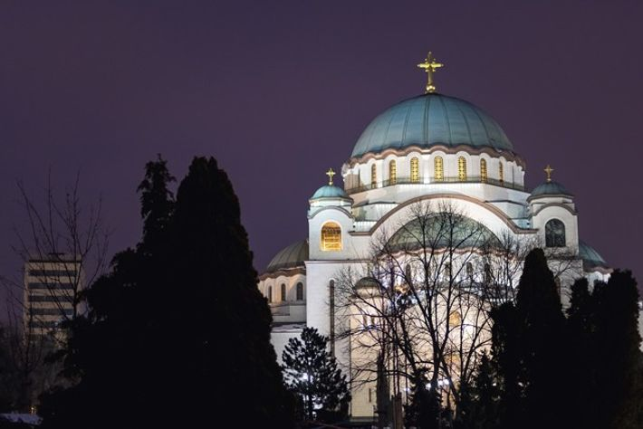Church of St Sava.