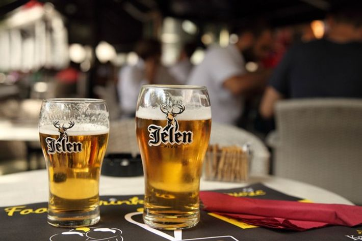 Jelen Pivo beers. Image: Stuart Forster