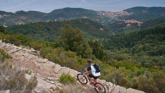 Cycling in Elba Island, Tuscany
