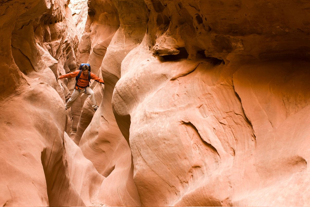 Black Hole of White Canyon