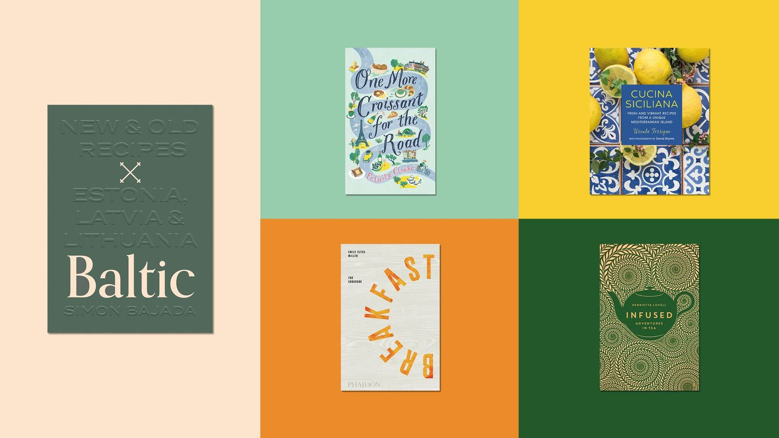 Our favourite new cookbooks