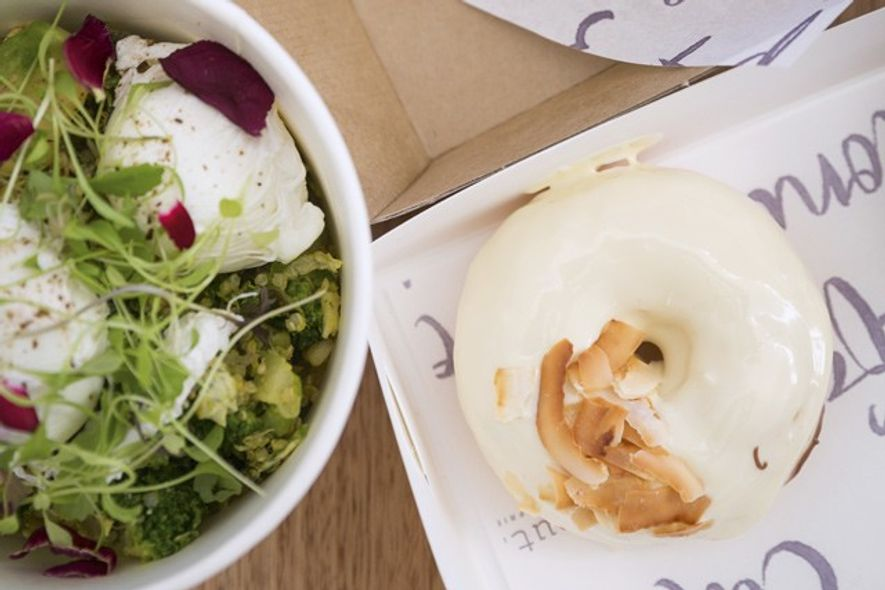Dishes from the menu at GF-friendly cafe Nodo. Credit: Chris Van Hove