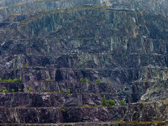 Rocks that roofed the world: striking views of the slate landscapes of North Wales
