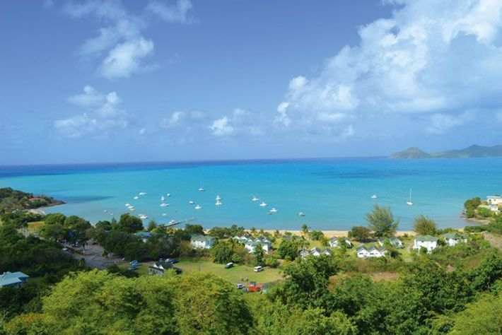 Oualie Bay, Nevis