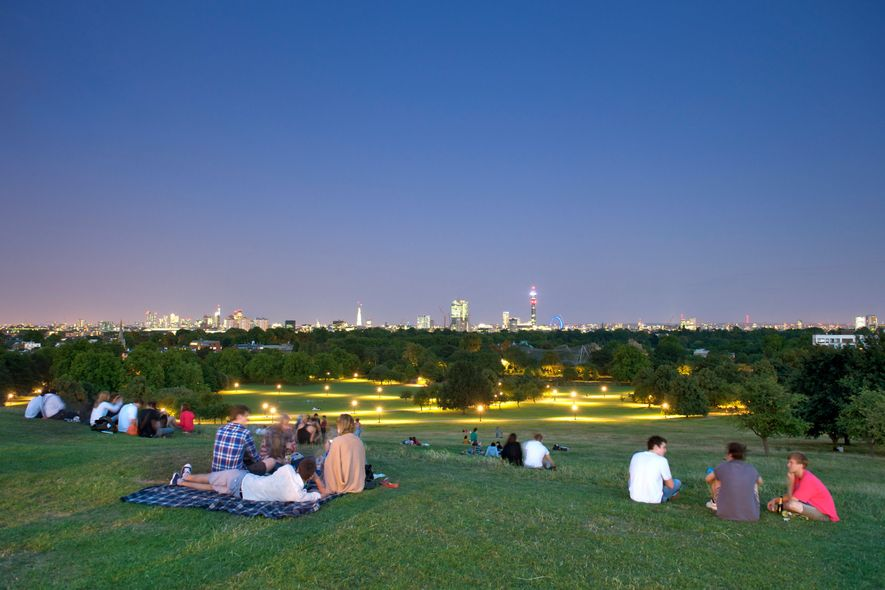 8 Surprisingly Serene Outdoor Spaces in London