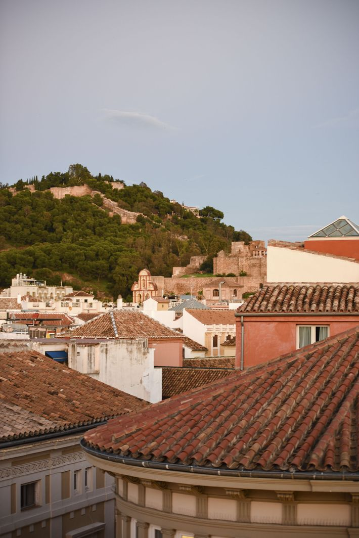 View of Alcazaba terrace from Room Mate Larios Hotel