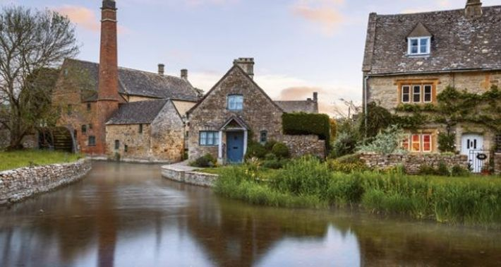 Lower Slaughter, Cotswolds.