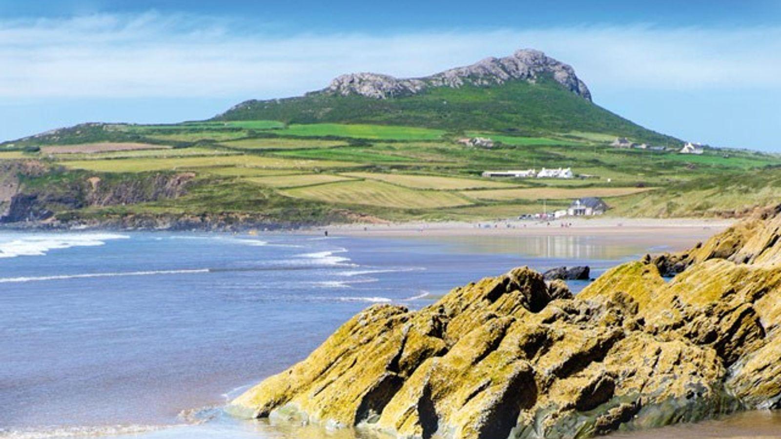 Whitesands Beach, Pembrokeshire, Wales