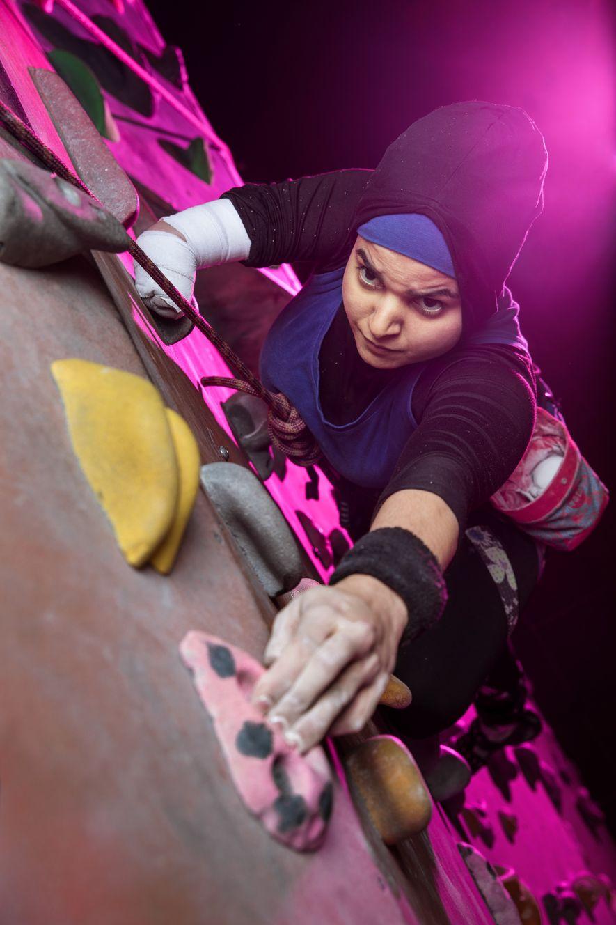 British para climber Anoushé Husain won the 2017 Asian Women of Achievement Award for Sport, and ...