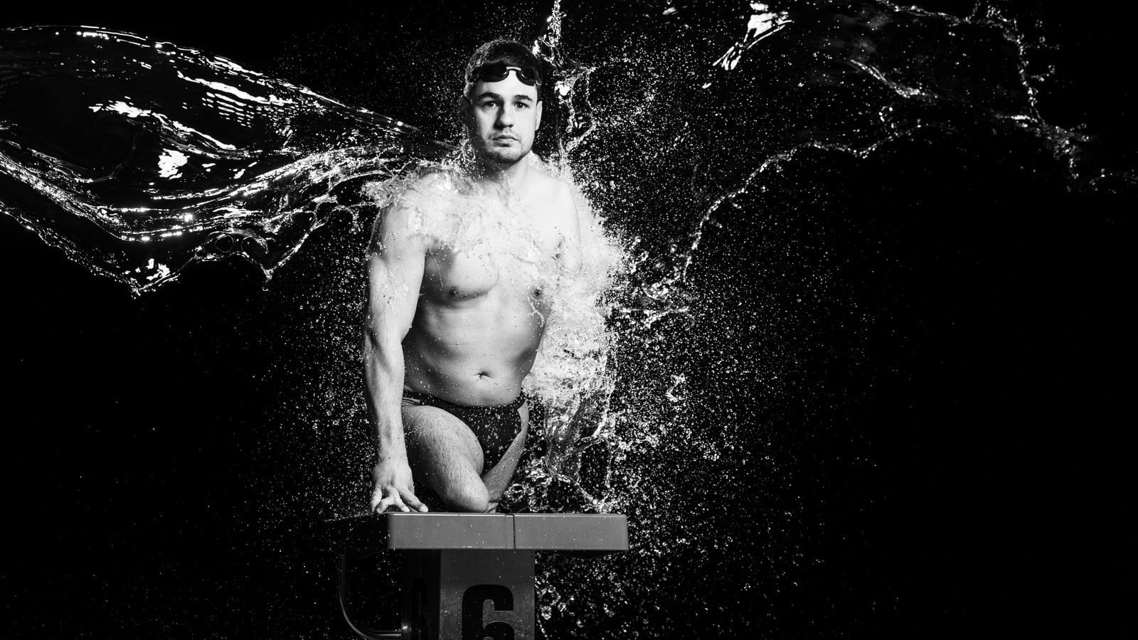 Slovenian swimmer Darko Duric was born with congenital amputation, a condition where limbs are not formed ...