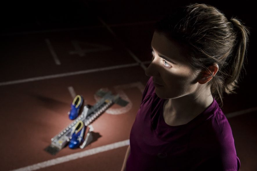 British Paralympic gold medalist Libby Clegg has Stargardt macular dystrophy, a degenerative eye condition. Sports photographer ...