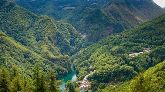 Isola Santa in the Appuan Alps, Tuscany