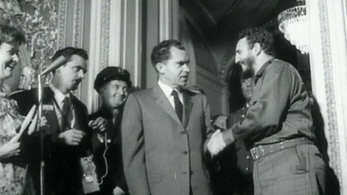 Fidel Castro in the USA