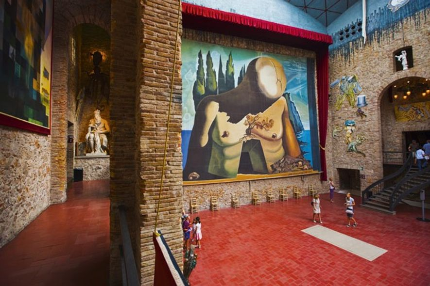 Dalí Theatre-Museum, Figueres. Image: SuperStock