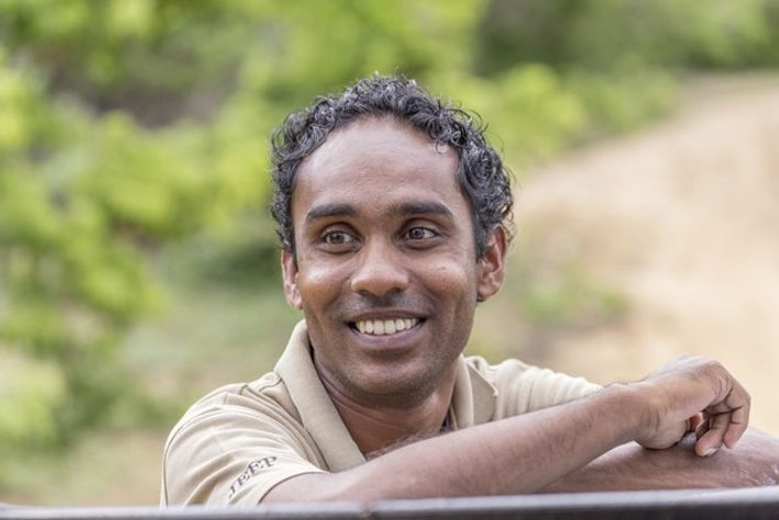 Chamara Amarasinghe, environmentalist at Jetwing Safari Camp
